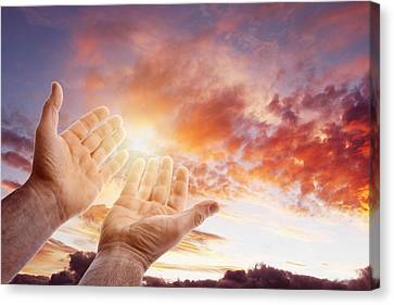 Hope For The Future Canvas Print by Les Cunliffe