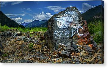Canvas Print featuring the photograph Hope II by John Poon