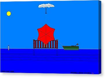 Etc. Canvas Print - Hope Is Out There.  by Richard Magin