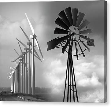 Hope Of Wind .  .  . Canvas Print by Daniel Hagerman