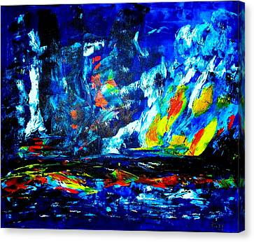 Canvas Print featuring the painting Hope by Piety Dsilva