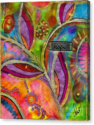 Hope Springs Anew Canvas Print by Angela L Walker