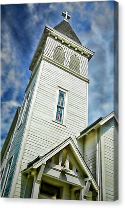 Evangelical Canvas Print - Hope - St. Paul United Church Of Christ by Stephen Stookey