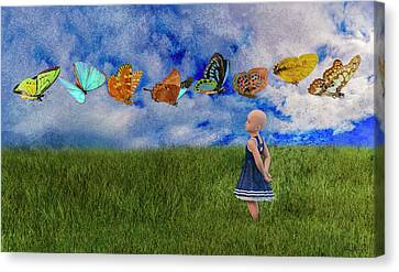 Hope -- Textured  Canvas Print by Betsy Knapp
