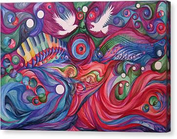 Hope Through Creation Canvas Print by NHowell