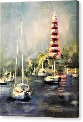 Hope Town Harbor Canvas Print