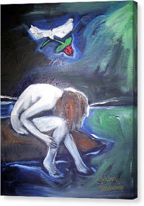 Canvas Print featuring the painting Hope  by Winsome Gunning