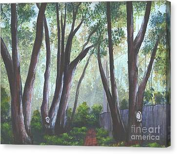 Hopeland Garden Pathway Canvas Print