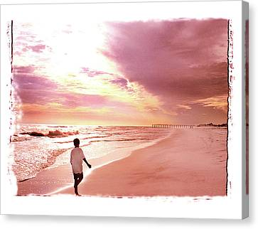 Canvas Print featuring the photograph Hope's Horizon by Marie Hicks