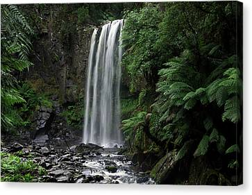 Canvas Print featuring the photograph Hopetoun Falls by Marion Cullen