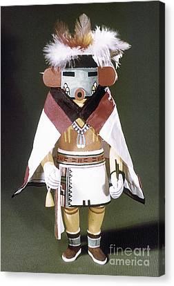 Hopi Kachina Doll Canvas Print by Granger