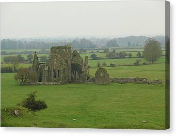 Canvas Print featuring the photograph Hore Abbey by Marie Leslie