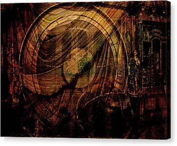 Horloge Astronomique Canvas Print by Sarah Vernon