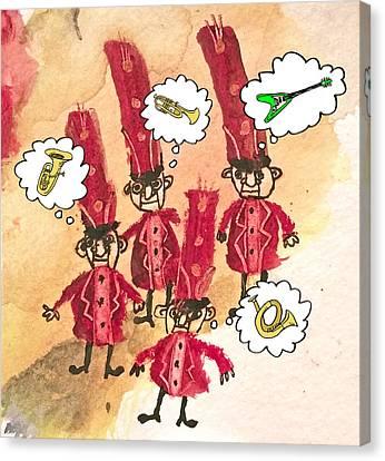 Horn Brothers Canvas Print by Eduardo Espada