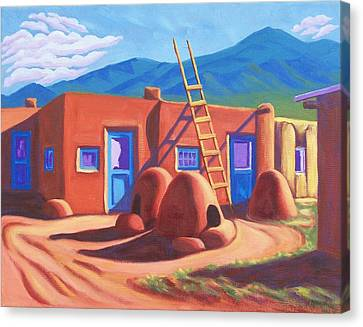 Horno De Pan Taos Canvas Print