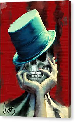 Horror Freak Canvas Print by Melanie D