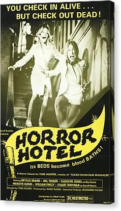 Horror Hotel, Aka City Of The Dead Canvas Print by Everett