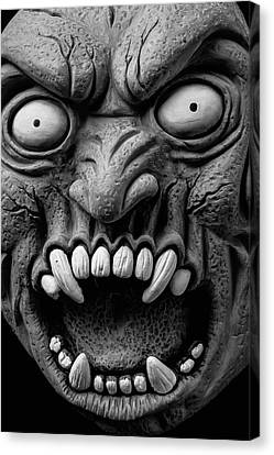 Horror Mask Canvas Print