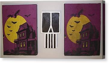 Horror Stories Canvas Print by William Douglas