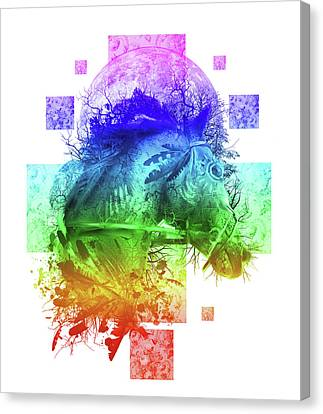 Oak Canvas Print - Horse 4 by Bekim Art