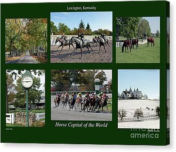 Kentucky Horse Park Canvas Print - Horse Capital Of The World by Roger Potts