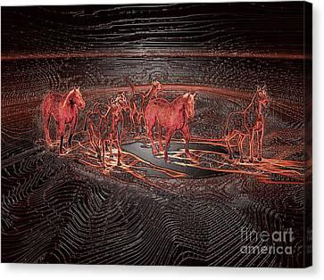 Horse Chestnut Pass Canvas Print