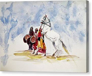 Horse Dance Canvas Print