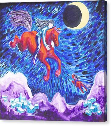 Horse Dreams Canvas Print