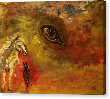 Horse Heaven Canvas Print