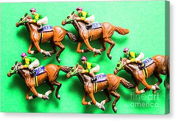 Horse Racing Carnival Canvas Print by Jorgo Photography - Wall Art Gallery