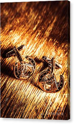 Horse Racing Cuff Links Canvas Print by Jorgo Photography - Wall Art Gallery