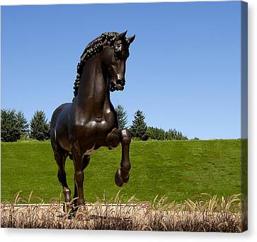 Horse Sculpture 2 Canvas Print