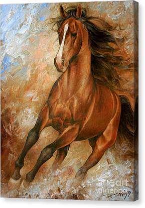 Nature Abstract Canvas Print - Horse1 by Arthur Braginsky