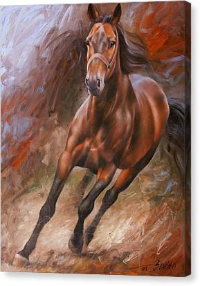 Horse2 Canvas Print by Arthur Braginsky