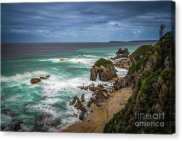 Horsehead Rock 1 Canvas Print by Paul Woodford