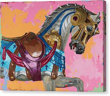 Horses #1 Canvas Print by David Palmer