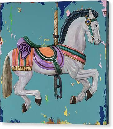 Horses #2 Canvas Print by David Palmer