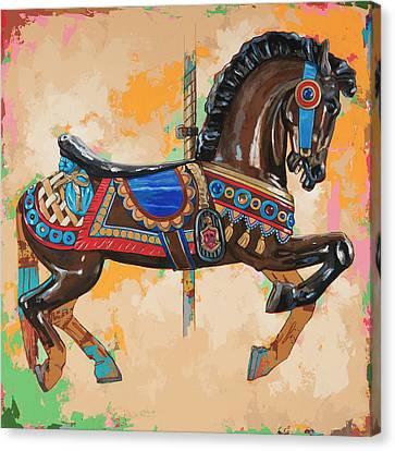 Horses #3 Canvas Print