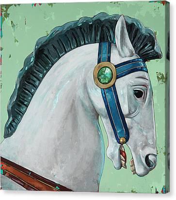 Horses #4 Canvas Print
