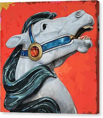 Horses #5 Canvas Print