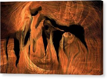 Horses 5 Canvas Print
