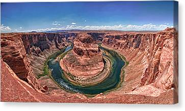 Horseshoe Bend - Colorado River Canvas Print