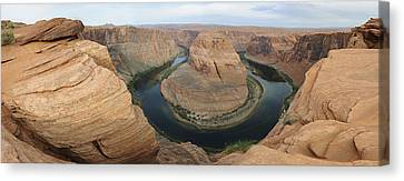 Horseshoe Bend Pre Dawn Canvas Print by Harold Piskiel