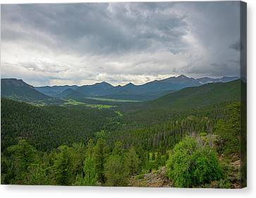 Horseshoe Park From Rainbow Curve 2 Canvas Print