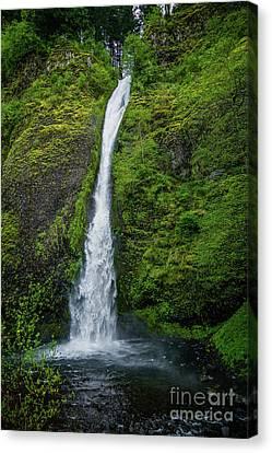 Horsetail Falls Canvas Print by Jon Burch Photography