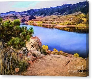 Horsetooth Dreams Canvas Print