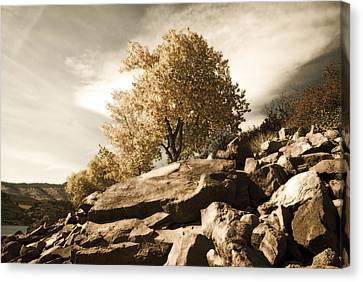 Horsetooth Reservoir 4 Canvas Print by Matthew Angelo