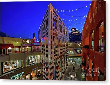 Horton Plaza Shopping Center Canvas Print by Sam Antonio Photography