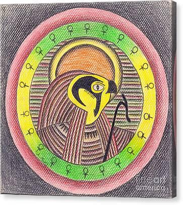 Horus  Canvas Print by Eman Allam