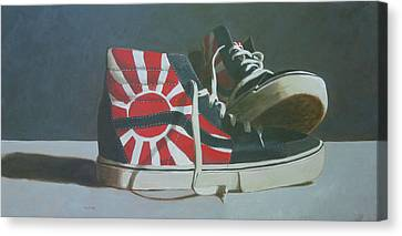 Hosoi Vans Canvas Print
